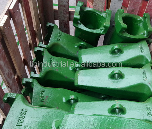 Tiger Supplier Precision Casting Bucket Teeth for Daewoo/ Doosan Excavator Parts DH220,DH280,DH360