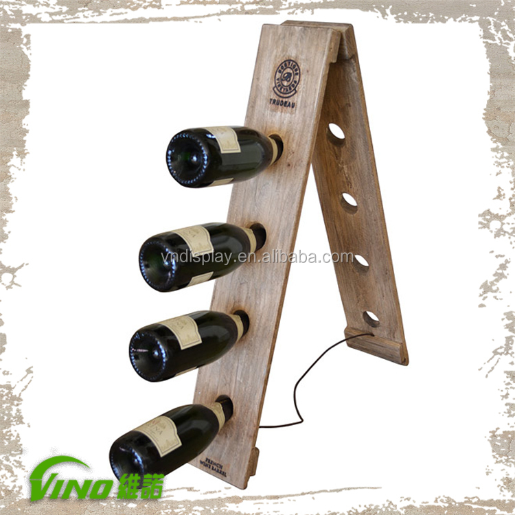Wooden Wine Champagne Bubbly Storagewood Wine Rack Bottle Champagne