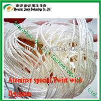 Glass Fiber/silica wick/braided silica wick for ecig with low price