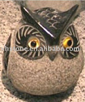 Owl carvings stone owl sculpture stone owl statue