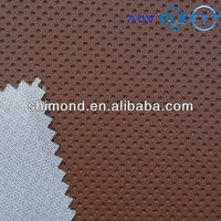 Dot Design Embossed 100% PVC Faux Leather for Car Seat
