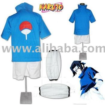 Naruto Cosplay Costumes Naruto Shippuden Sasuke Uchiha 1st Costume Buy Naruto Product On Alibabacom