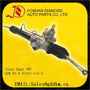 Isuzu Dmax 4wd Steering Gear Lhd Oem No.8-97943-519-0