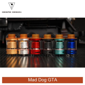 2018 Vaporizers 3.5ml Best Vape tank Desire Mad Dog GTA