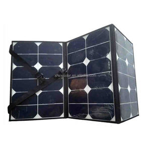 20w 40W 60w fabric folding solar panel charger