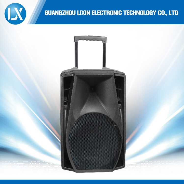 "15"" woofer battery speaker with digital power amplifier and Battery Speakers"