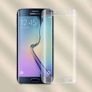 New product ! For samsung Galaxy s7 edge tempered glass screen protector / hot bend 3D curved s7 edge tempered glass
