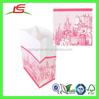 Q1419 Shenzhen Factory New Design Packaging Traditional Cheap Take Away Fast Food Paper Bag