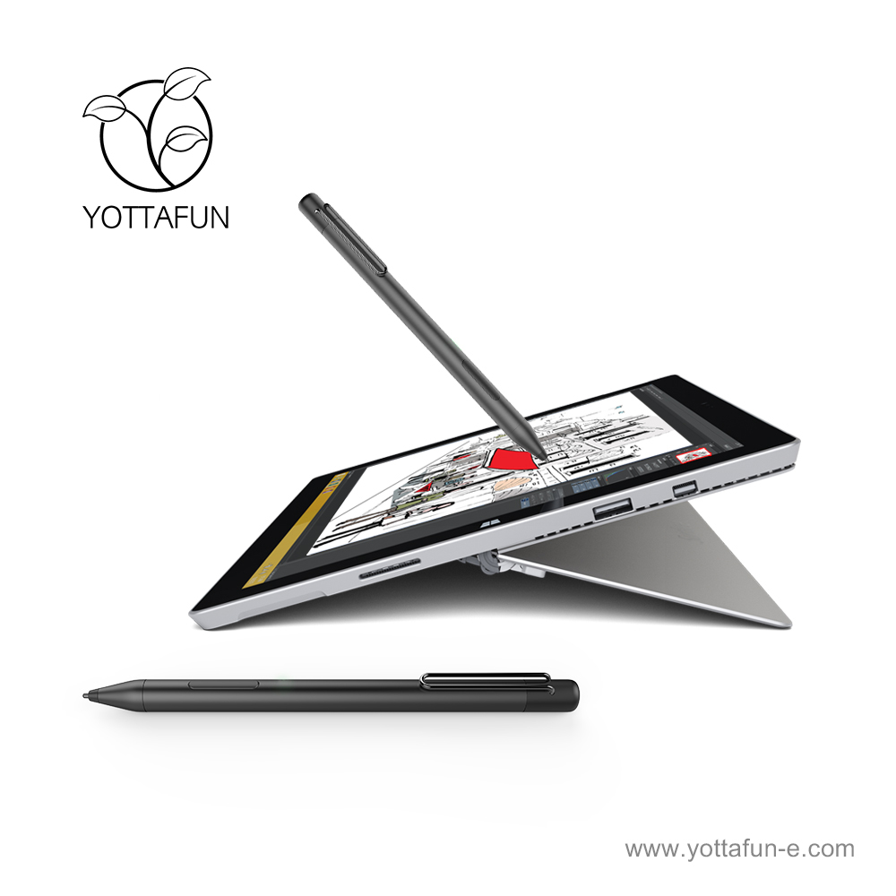YOTTAFUN Active Stylus pen touch screen pen tip clip Surface pen for Surface Laptop, Surface Pro 4, Surface Pro 3 for HP ASUS