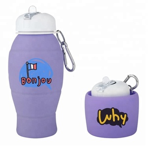 Custom Logo Spout Drink Gym Fitness Curve Sports Bottle With Spout