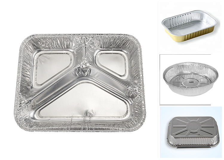 Eco-Friendly Microwave Disposable Aluminum Foil Bowl Container