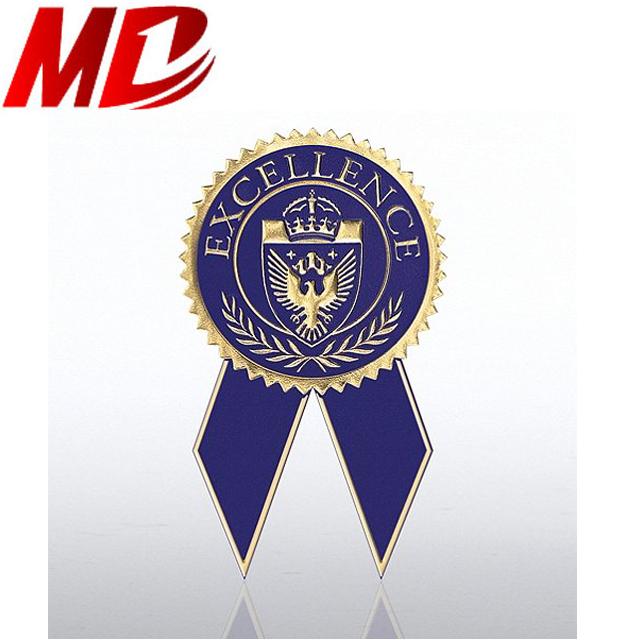 pre cut recognition certificate ribbon 1 1 2 x 1 3 4 in satin purple