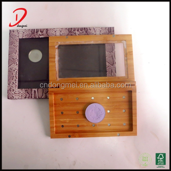 Bamboo makeup palette,empty make up eyeshadow palette,free makeup.
