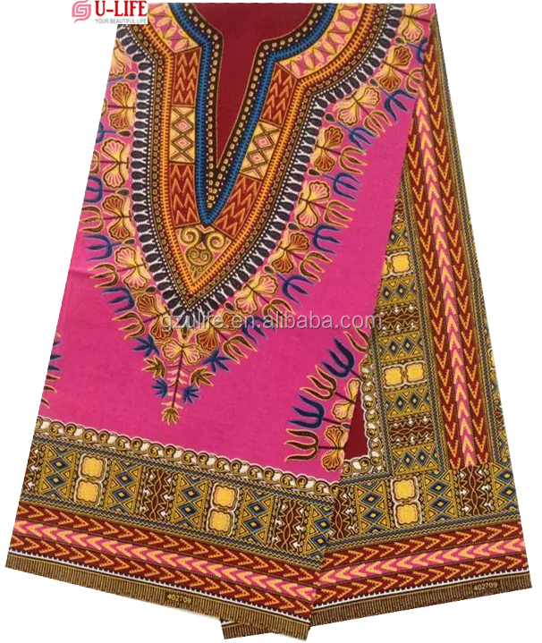African Fashion Style Clothes veritable real wax fabric,spandex african wax printed cotton fabric 6yards