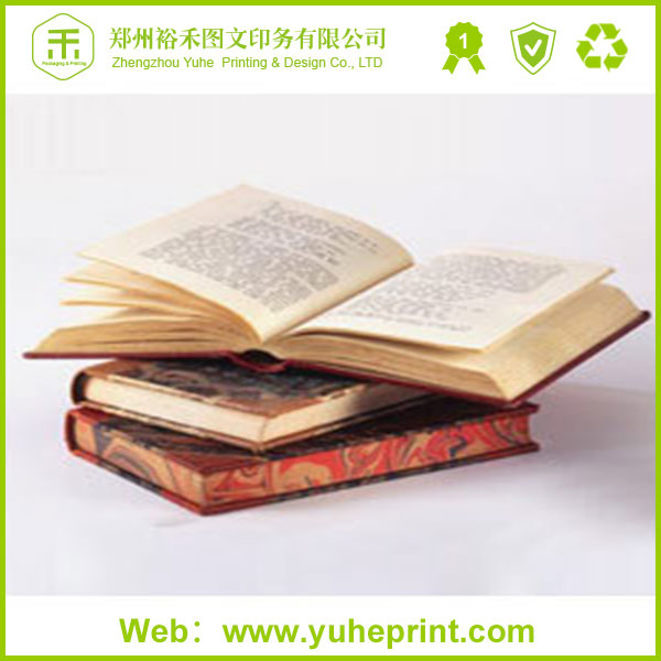 Elegant free sample design hard cover book,mini fancy paper wire-o binding photo book printing