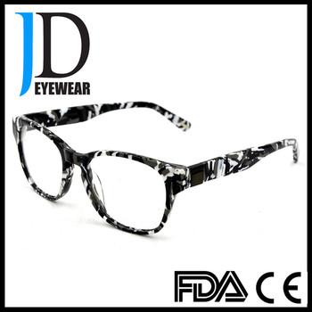 Jd Eyewear Eyeglasses With Rhinestone Rectangle Glasses Frames - Buy ...