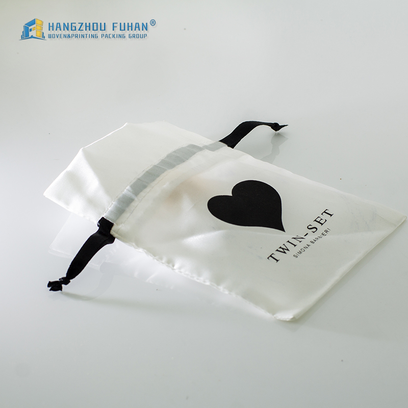 Professional Design Various Trendy White Satin Bags
