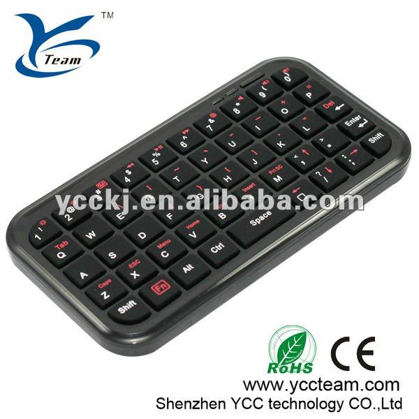NEW HOT SELL 2012 Fashionable Mini keyboard with trackball for ipad