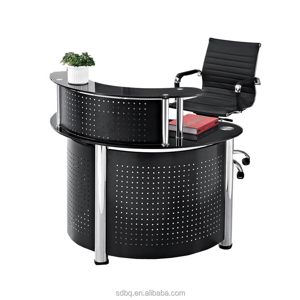 Xpt P0406 Office Small Curved Reception Counter Desks Design Desk Product