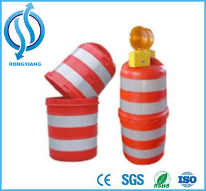 Cheap Price Plastic Traffic Drum Traffic Barrel Water Filled Barrier for Sale