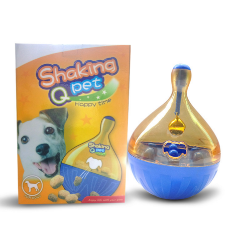 eBay hot sale pet supplies tumbler leaking device for dog's bite toy