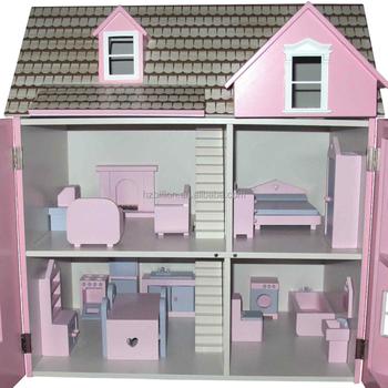 1 12 Skala Kayu Dolls House Mainan Anak - Buy Indah Kayu Rumah ... 29aab44467