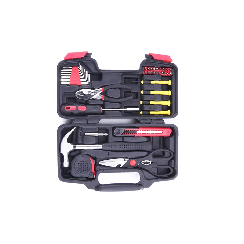 Ronix new General Household Hand Tool <strong>Kit</strong> with Plastic Tool box 40 pcs tools sets