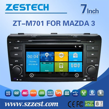 car entertain system for Mazda 3 2004-2009 car audio player with buletooth car gps am/fm RDS Radio function