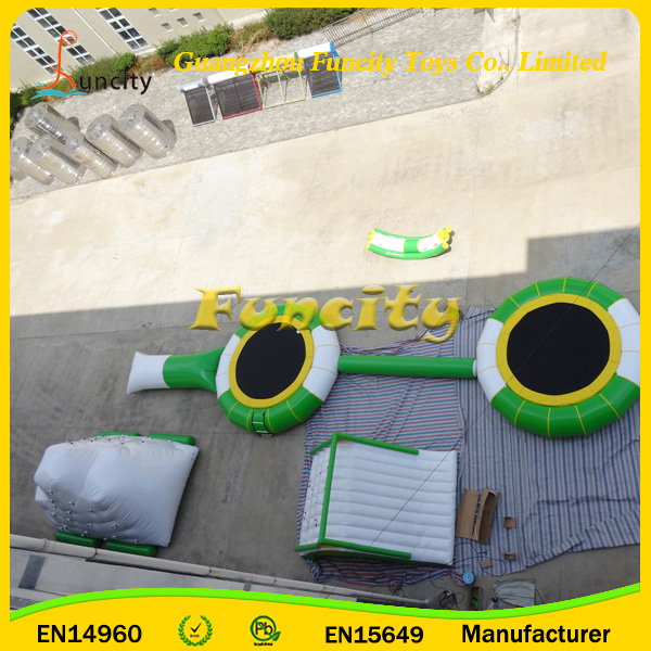 Hot seller inflatable water trampoline,commercial aqua park,inflatable water toys for adults