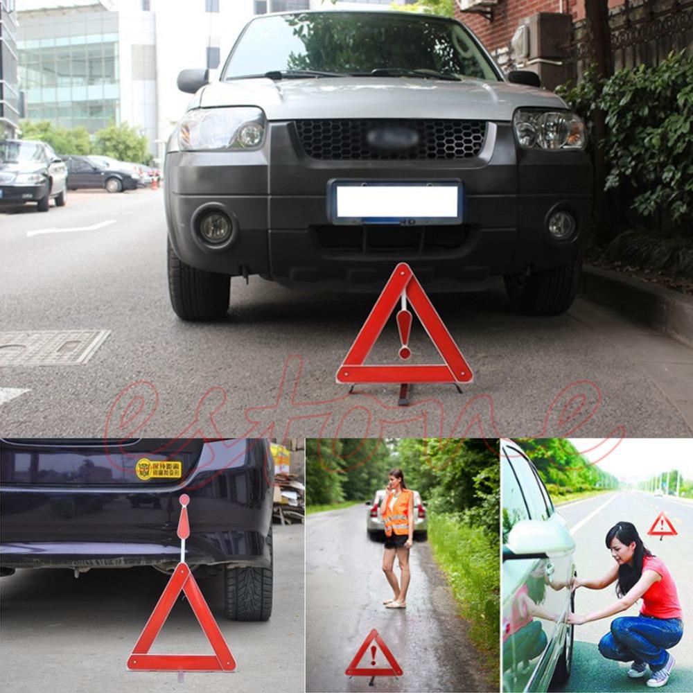 Складной автомобиль придорожная треугольник безопасности светоотражающий аварийного предупреждения парковки доска бесплатная доставка