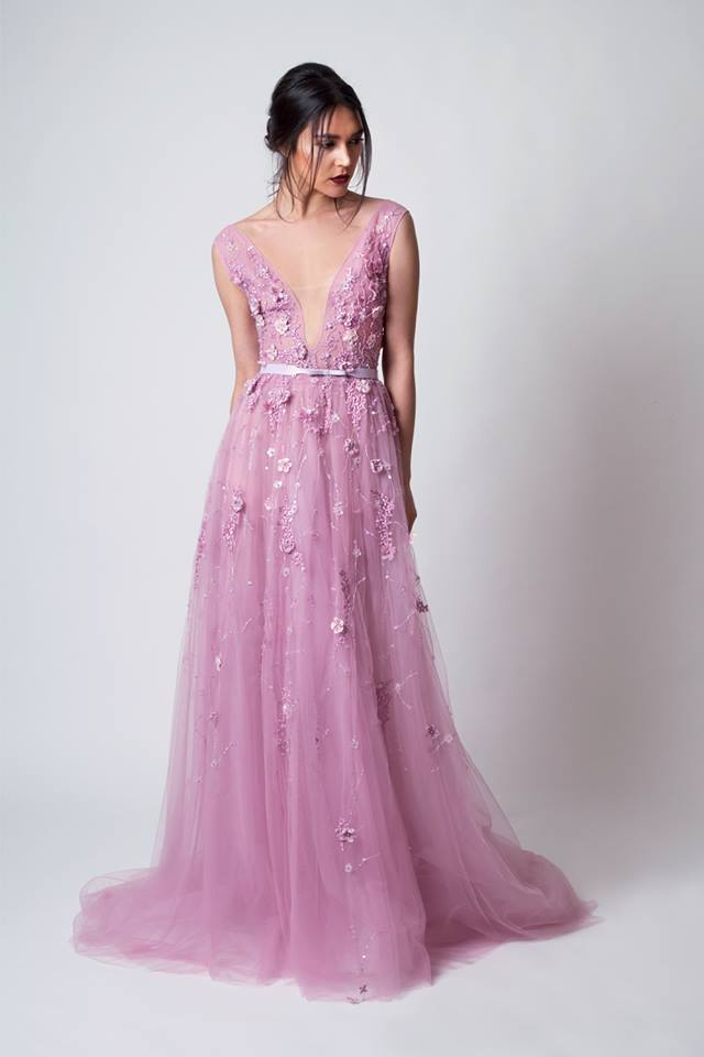 New Arrival 2015 Modest Formal Gowns Tulle Evening Grecian ...