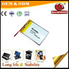Rechargeable tablet pc li-polymer battery 1500mah 3.7v for ipad