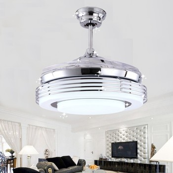 Special discount silver ceiling fan light remote control ceiling special discount silver ceiling fan light remote control ceiling fan light dining room light aloadofball Choice Image