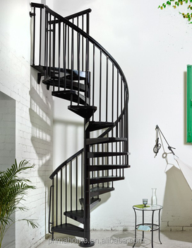 Genial Narrow Spiral Space Saving Stairs Staircase Design For House