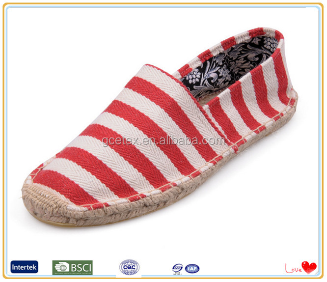 Ladies wholesale china flat casual espadrilles model of dinner shoes in England