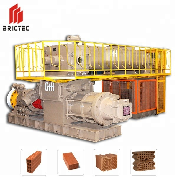 Lowest price Germany standard Clay brick making machine for red bricks making plant