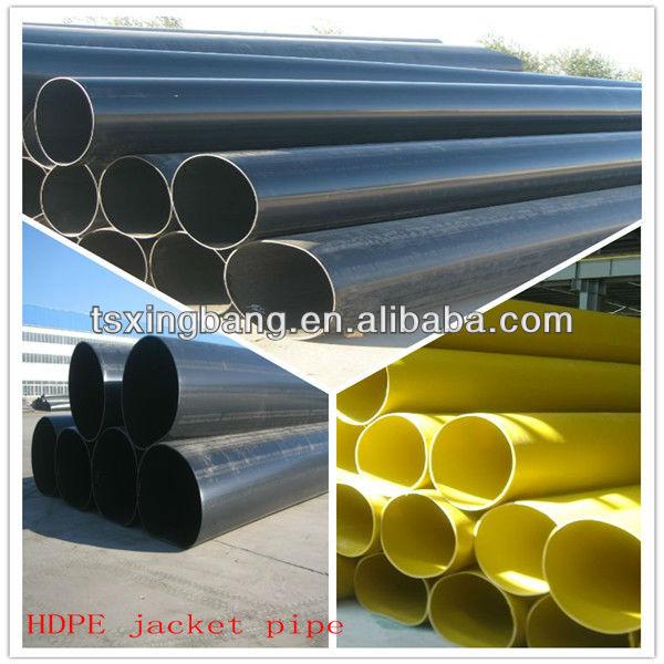 grade pe80 standard length hdpe pipe