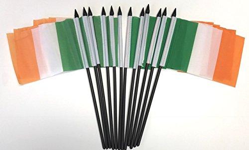 "Ireland 4 Provinces Small Hand Waving Flag 6/"" x 4/"""