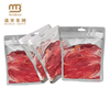 plastic food packaging for beef jerky bag