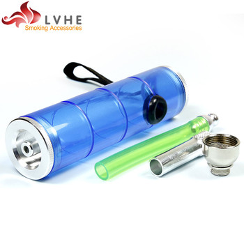 T329PM LVHE China Supplier Plastic Smoking Pipe