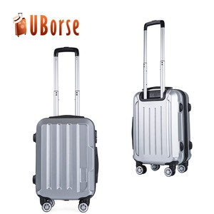 "Uborse luggage bags 3 pieces 20""24""28"" trolley abs hard case carry on travel luggage set"