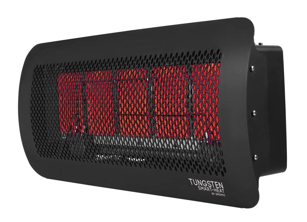 Bromic Heating Tungsten 500 Smart Heat Gas 5 Burner Radiant Infrared Patio  Heater, Natural
