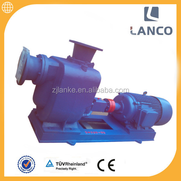 Lanco ZW self priming centrifugal sewage Explosion proof motor electric pump