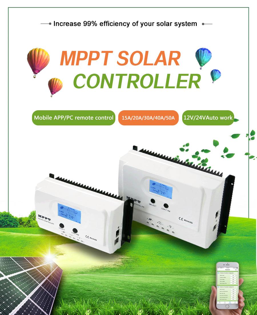 12v 24v Pv Solar System I Panda Solar Controller System Ethernet 15a Solar  Charge Controller Mppt - Buy I Panda Solar Controller System Ethernet,12v