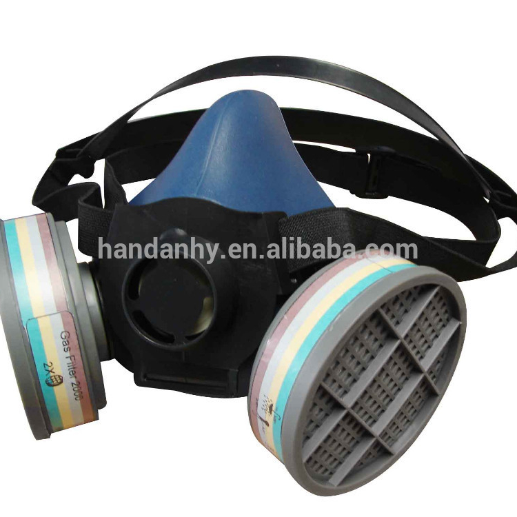 N3800 Anti-dust Facepiece Filter Paint Spraying Cartridge Respirator Gas Mask Excellent In Cushion Effect Fire Respirators