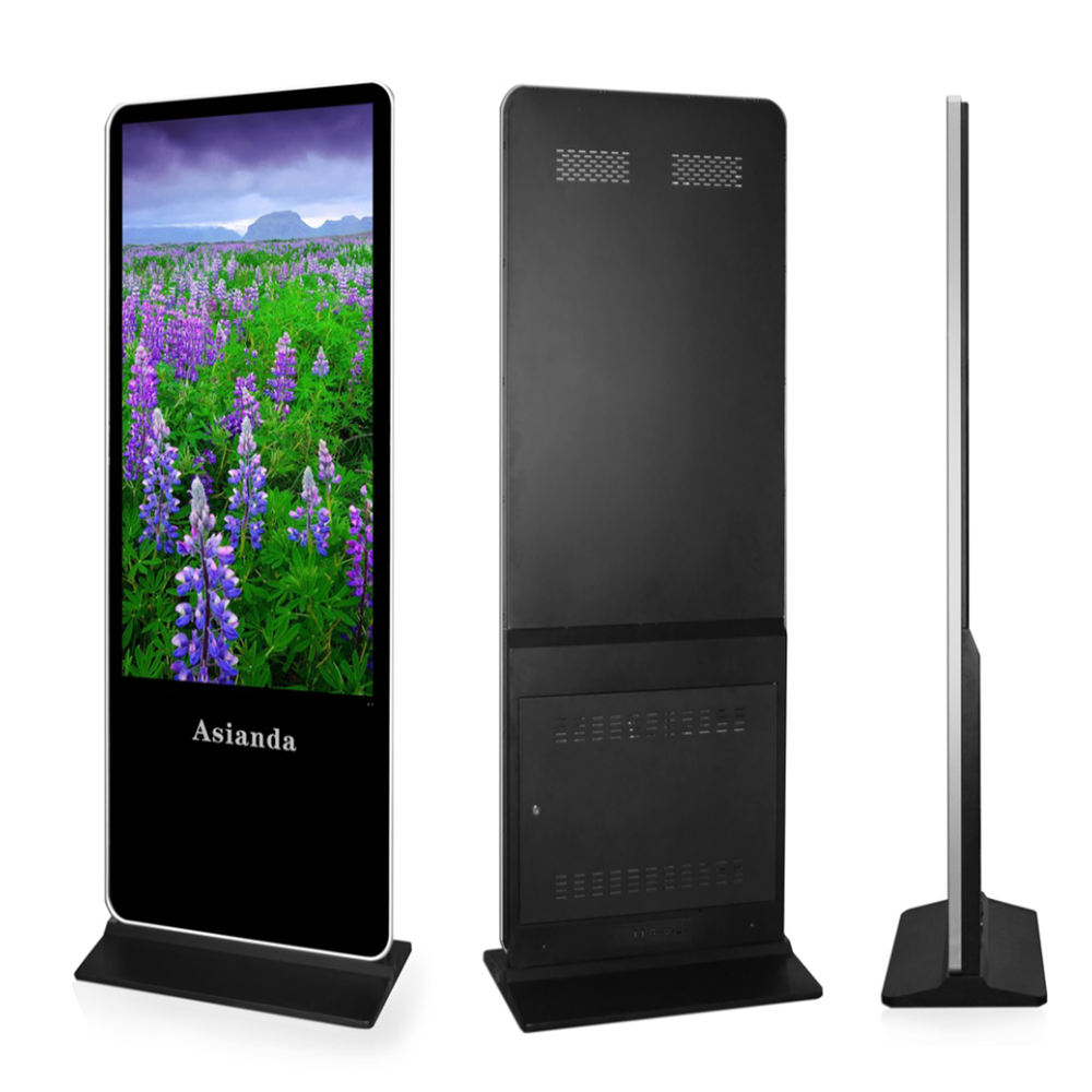 55 inch free standing LCD display with Android system