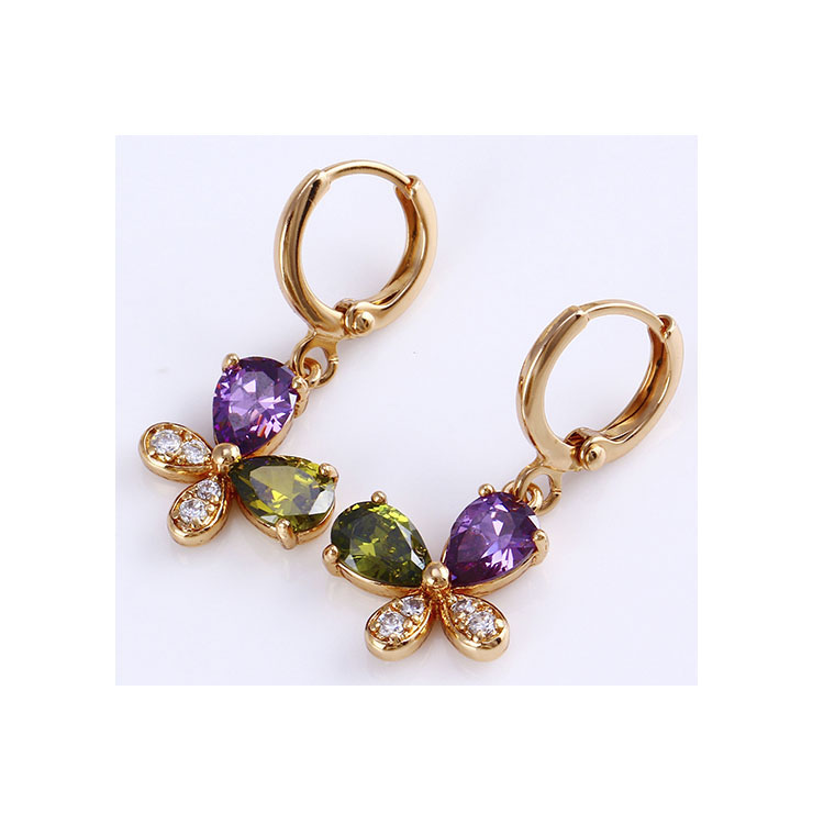 24744 Xuping Jewelry 18K Gold Plated Hot Sale Fashion Earring фото