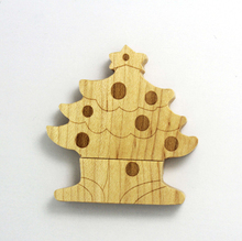 Nice Price Wooden Christmas Tree OTG USB Flash Drive/Flash Memory