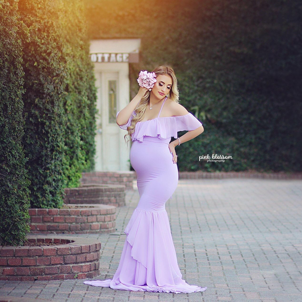 Women S Off Shoulder Long Sleeve Maternity Dress For Photography Chiffon Maternity Gown For Photoshoot Buy Maternity Gown Dress Maternity Dress For Photo Shoot Pregnancy Women Dress Product On Alibaba Com