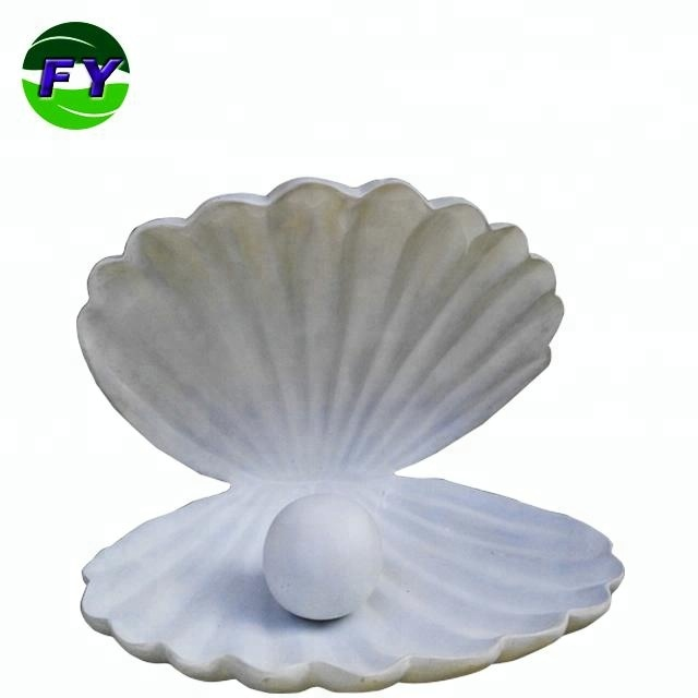 Art galleries museum sea shell sculpture for exhibition